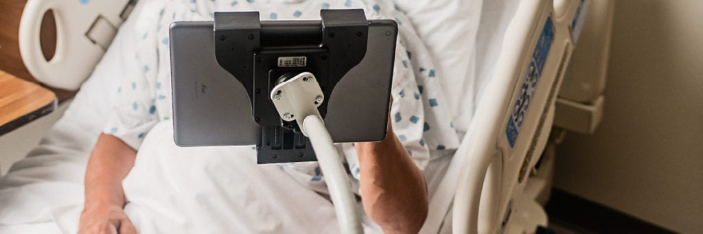 Physician iPad Stand with Flex Arm