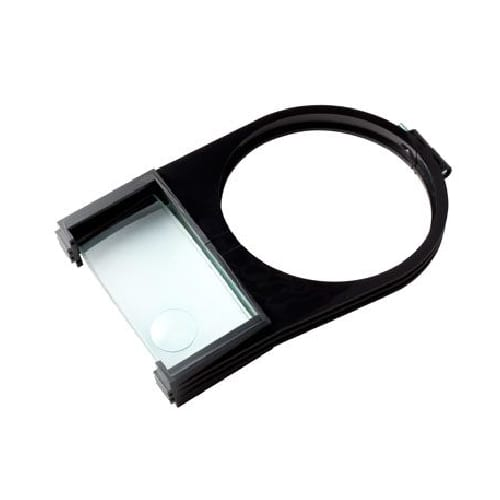 Shade Mounted Magnifier Attachment, 2X Plus 4X